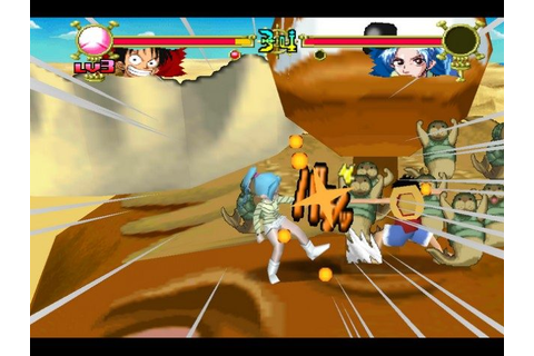 One Piece Grand Battle 2 (2002) by Ganbarion PS game