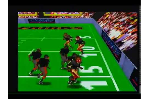 arena football '95 - unreleased 1995 atari jaguar video ...