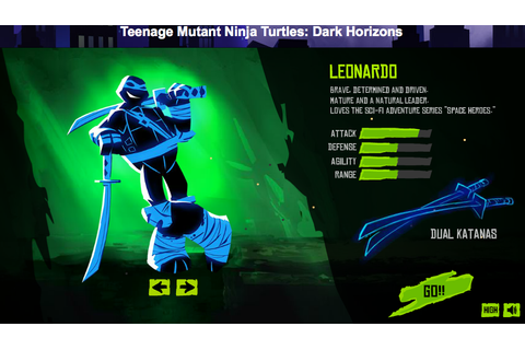 Burning the Midnight Coffee: Nickelodeon TMNT Game: Dark ...