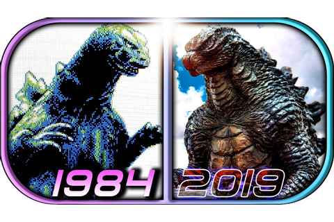 EVOLUTION of GODZILLA in Games (1984-2019 Godzilla King of ...