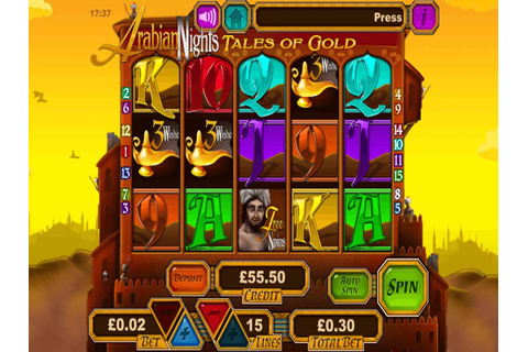 Arabian Nights Slot by Intouch Games - Slots - GamblersPick