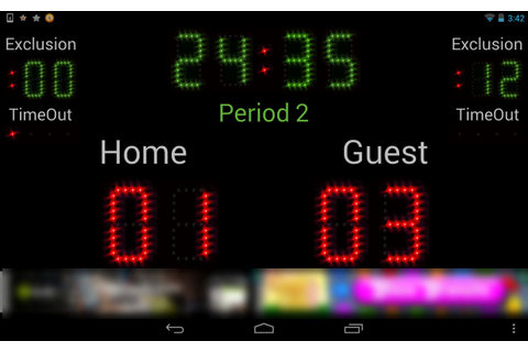 Scoreboard Handball ++ - Android Apps on Google Play