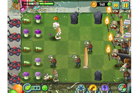 Plants vs. Zombies 2 Receives Birthdayz Mega Event – Adweek