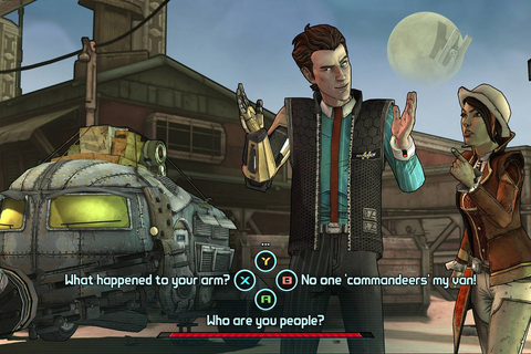 Tales from the Borderlands lets you stop and smell the ...