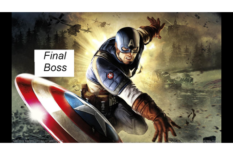 Captain America: Super Soldier Final Boss + Game Ending ...