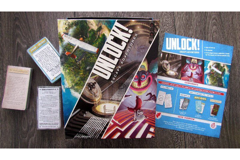 Unlock! Escape Adventures Review | GamesReviews.com