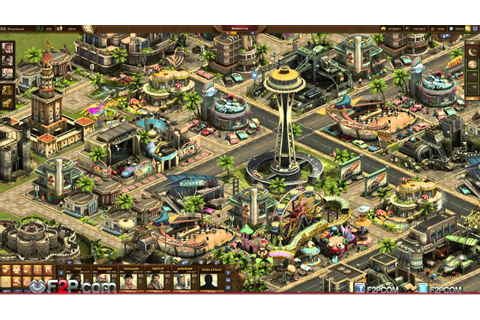 Forge of Empires Modern Era Intro Gameplay Trailer - YouTube
