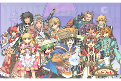Atelier Annie Alchemists of Sera Island Wallpaper 015 ...