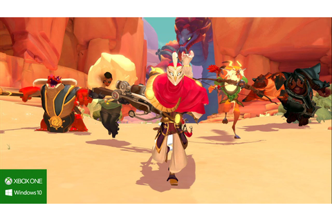 Gigantic E3 2015 Gameplay Trailer - YouTube