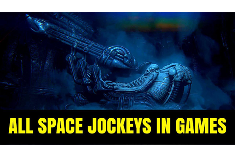 All Space Jockey Chambers in Alien Games - YouTube