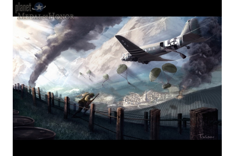 Concept art from Medal of Honor: Airborne. - Planet Medal ...