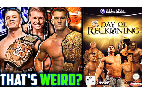 This WWE Game Is FORGOTTEN?!! | WWE Day Of Reckoning ...