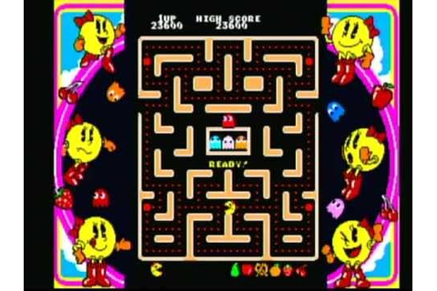 Namco Museum Ms. Pac-Man (Game Cube) Game Play - YouTube
