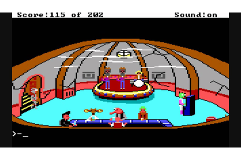 Review of Space Quest 1: The Sarien Encounter - YouTube