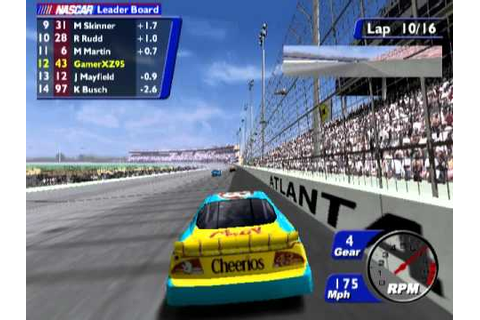 NASCAR Heat 2002 (PS2 Gameplay) - YouTube