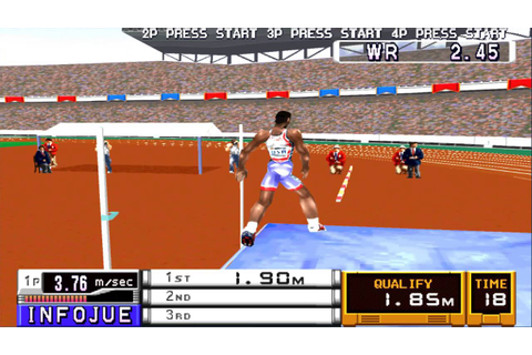 Playstation (PSX) - [2] - International Track and Field ...