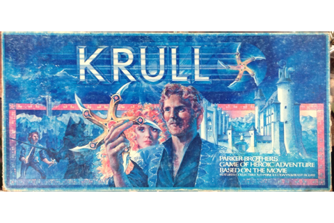Krull Board Game - Bug Eyed Monster