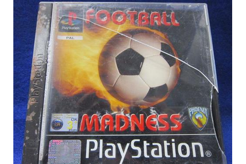 Games - Football Madness - Playstation (PSone) PS1 (pal ...