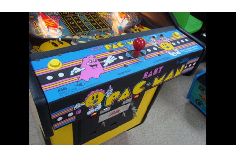 Baby Pac-Man Pinball Machine - Bally's 1982 Classic ...
