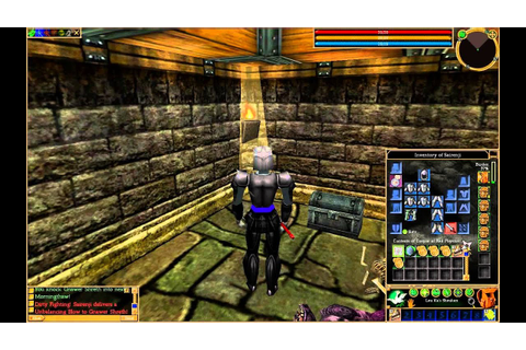 Asheron's Call Starter Gameplay (feb 2014) - YouTube