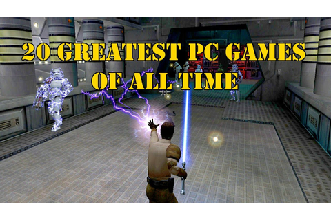 20 Greatest PC Games Of All Time | best computer games ...