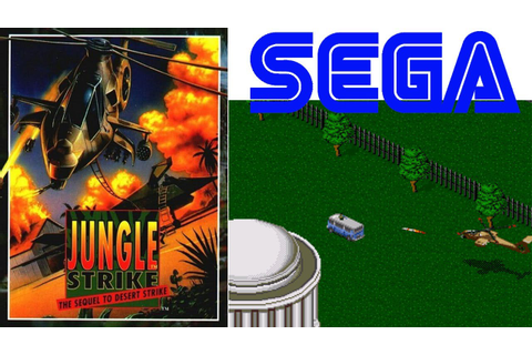 Love in the Jungle.. Jungle Strike Gameplay Sega HD - YouTube