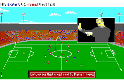 Football Manager 3 | Old DOS Games packaged for latest OS