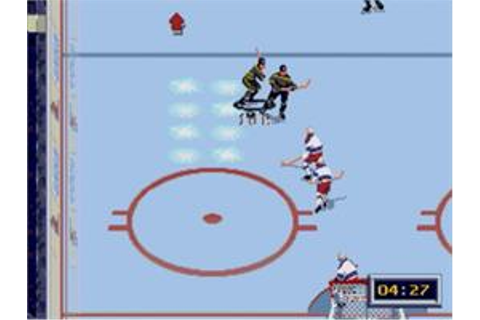 NHL All-Star Hockey '95 - Sega Genesis - Games Database