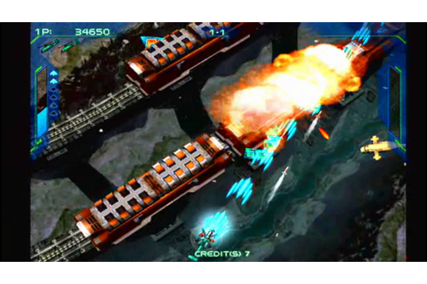 Zero Gunner 2 - VGA HD Sega Dreamcast - YouTube