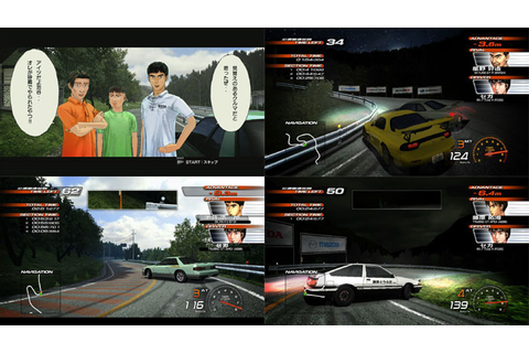 Initial D Extreme Stage (Best) (New) from Sega - PS3