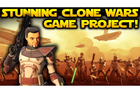 STAR WARS REDEMPTION - Epic Clone Wars Era Game Project ...
