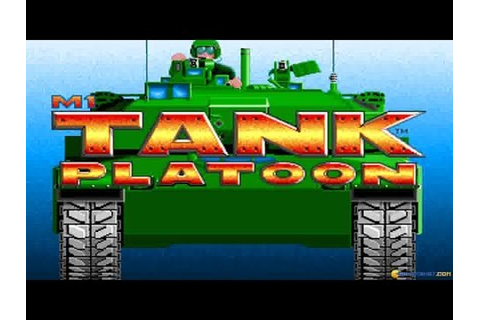 M1 Tank Platoon gameplay (PC Game, 1989) - YouTube