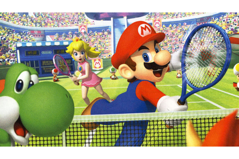 Classic Game Room - MARIO TENNIS OPEN review for Nintendo ...
