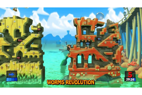 Worms Revolution Collection for Xbox 360 - YouTube