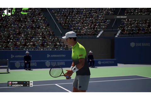 AO International Tennis PC Game Highly Compressed Free ...