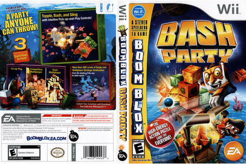 (Wii) Boom Blox Smash Party (WBFS) (UB) - Identi