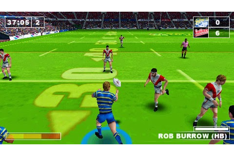 Rugby League Challenge - Download Game PSP PPSSPP PSVITA Free