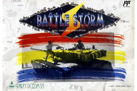 Battle Storm Details - LaunchBox Games Database