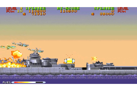 Carrier Air Wing Mission 3 1990 Capcom Mame Retro Arcade ...