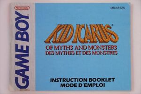 Kid Icarus: Of Myths and Monsters *French Nintendo Game ...