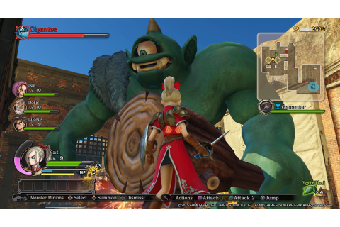 Dragon Quest Heroes: The World Tree's Woe and the Blight ...