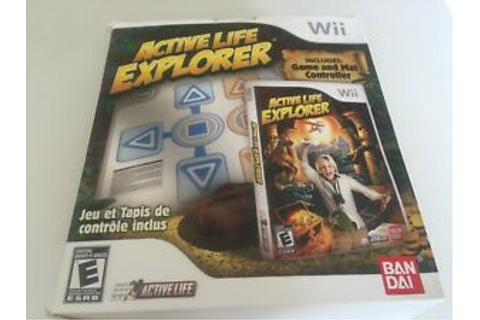 Active Life Explorer Mat Controller & Game Bundle Nintendo ...