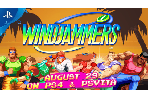 Windjammers – Characters Trailer | PS4, PS Vita - YouTube