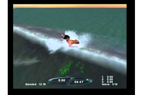 Sunny Garcia Surfing gameplay (PS2) - YouTube