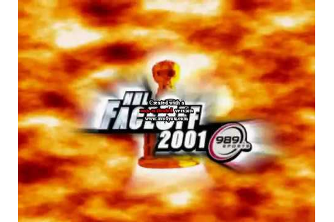 NHL Faceoff 2001 PlayStation Video Game Opening - YouTube