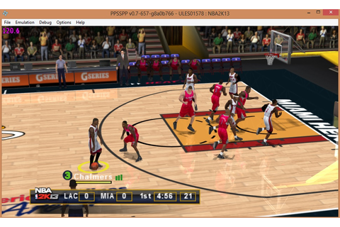 NBA 2K13 Android APK + ISO PSP Download For Free