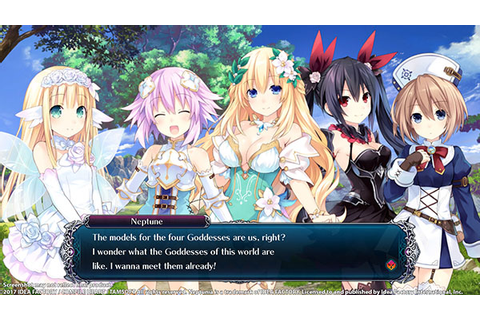 Cyberdimension Neptunia: 4 Goddesses Online for PC ...