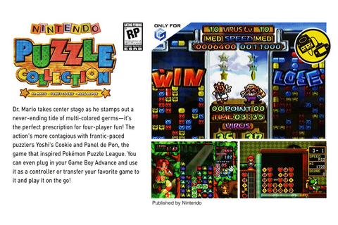 Nintendo Puzzle Collection (Unreleased North America and ...