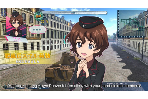 GIRLS und PANZER Dream Tank Match - Latest Trailer Reveals ...