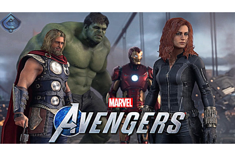 Marvel's Avengers Game - Hands On Impressions! - YouTube